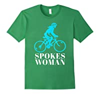 Spokes Woman Cycling Shirts Forest Green