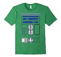 Star Wars R2-d2 Costume T-shirt Forest Green
