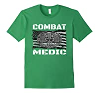 Combat Medic, Perfect Veteran Medical Military Shirts Forest Green