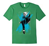 Marvel X- Storm Color Pop Box Graphic T-shirt Forest Green