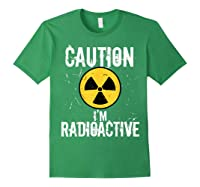 Radiation Therapy Funny Cancer Get Well Soon Gift Survivor T-shirt Forest Green