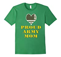 Proud Army Mom Shirts Forest Green