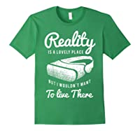 Virtual Reality Hmd Interactive Game Vr Headset Shirts Forest Green