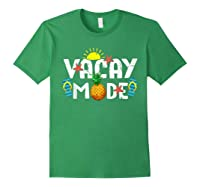 Family Vacation Holidays Vacay Mode Summer Travel Gift T-shirt Forest Green