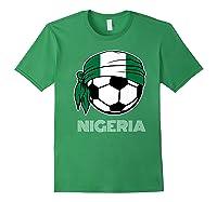 Nigeria Soccer 2019 Super Eagles Fans Kit Football Shirts Forest Green
