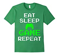 Gaming Console Vintage Shirts Forest Green