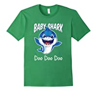 Baby Shark Doo Doo Birthday Party Gifts Girl Boy Out T-shirt Forest Green