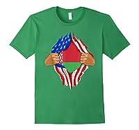 Belarusian Blood Inside Me Belarus Flag Gift Shirts Forest Green