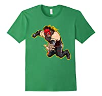 Kane Clothesline Graphic Shirts Forest Green