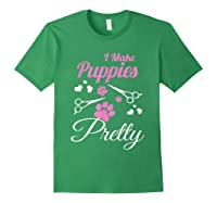 Pet Grooming For Cute Groomer Gift Shirts Forest Green