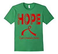 Wegener\\\'s Granulomatosis Awareness T-shirt Forest Green