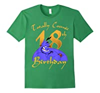 Disney Aladdin Genie Totally Cosmic 18th Birthday T-shirt Forest Green