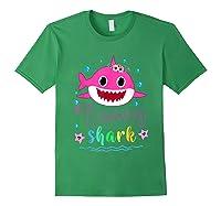 Nanny Shark Doo Doo Doo Shirt Matching Family Shark T-shirt Forest Green