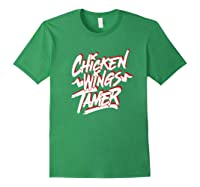 Humorous Chicken Wings Tamer Lover Gift Love Chicken Wing Shirts Forest Green