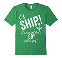 Ernie And Debs Birthday Cruise Shirts Forest Green