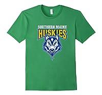 University Of Southern Maine Huskies Ppusmn02 Shirts Forest Green