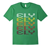Ely, Nv Vintage Style Nevada Shirts Forest Green