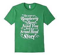 She Wore A Raspberry Beret T Shirt Forest Green
