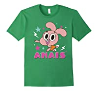 The Amazing World Of Gumball Anais Portrait Shirts Forest Green