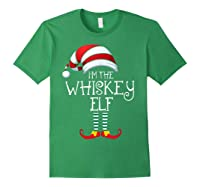 I'm The Whiskey Elf Family Matching Christmas Gift Group Shirts Forest Green