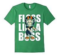 Floss Like A Boss Football Shirts Forest Green