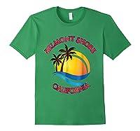 Belmont Shore Beach Surf California Gift Shirts Forest Green