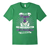 Cleft & Craniofacial Awareness Purple For Granddaughter Ts Shirts Forest Green