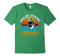 Killer Shark Funny Meme Shirts Forest Green