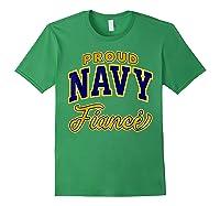 Proud Navy Fiance Shirt Forest Green
