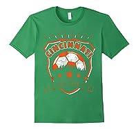 Vintage Cincinnati Soccer Sport Fan Gift Idea Fc 513 Shirts Forest Green