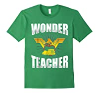 Wonder Tea Funny Tea Life Shirts Forest Green