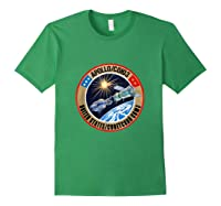 Apollo-soyuz Rendezvous Patch T-shirt Nasa History Forest Green
