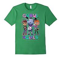 Vampirina Ghoul Girls Trio Shirts Forest Green