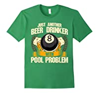 Beer Billiards For Pool Hall Pub With Mugs Suds Shirts Forest Green