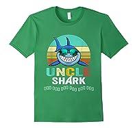 Uncle Shark Doo Doo T-shirt Forest Green