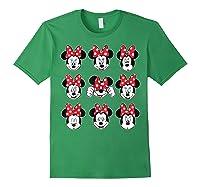 Disney Minnie Rock The Dots Oh My Minnie T-shirt Forest Green