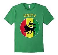Rasta Live Up Unity Design Shirts Forest Green