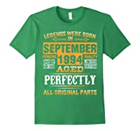 Vintage September 1994 Birthday Gift For 25 Yrs Old D1 Shirts Forest Green