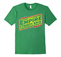 Star Wars The Empire Strikes Back Vintage Logo T-shirt Forest Green
