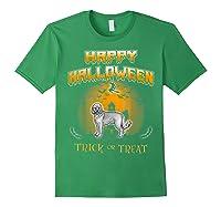 Cockapoo Dog Happy Halloween Shirts Forest Green