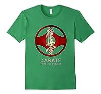 Karate Kyokushin T-shirt Forest Green