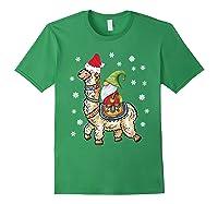 Santa Hat Christmas - Santa Gnome T-shirt Forest Green