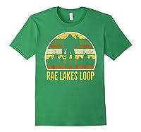 Rae Lakes Loop Shirt, Rae Lakes Loop T-shirt Forest Green