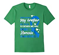 Supporting My Brother Together We Win Apraxia Shirts Forest Green