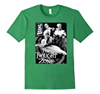 Twilight Zone About To Enter Another Dision Shirts Forest Green