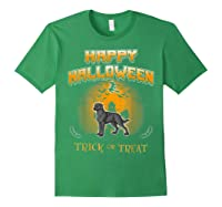 Chesapeake Bay Retriever Dog Happy Halloween T-shirt Forest Green
