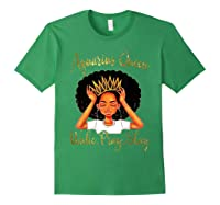 Aquarius Queens Are Born In January 20 February 18 Shirts Forest Green
