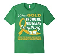 Means Everything Embryonal Rhabdomyosarcoma Shirts Forest Green