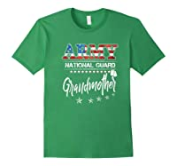 Army National Guard Grandmother Of Hero Military Family Shirts Forest Green