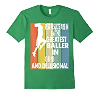 The Greatest Baller In Ohio Basketball Player T-shirt Forest Green